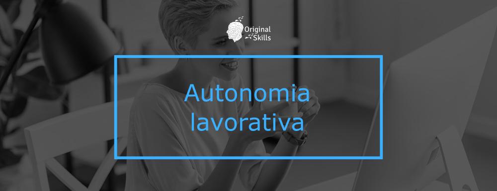 Autonomia lavorativa