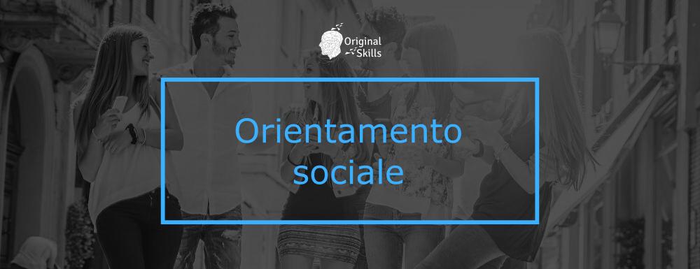 Orientamento sociale